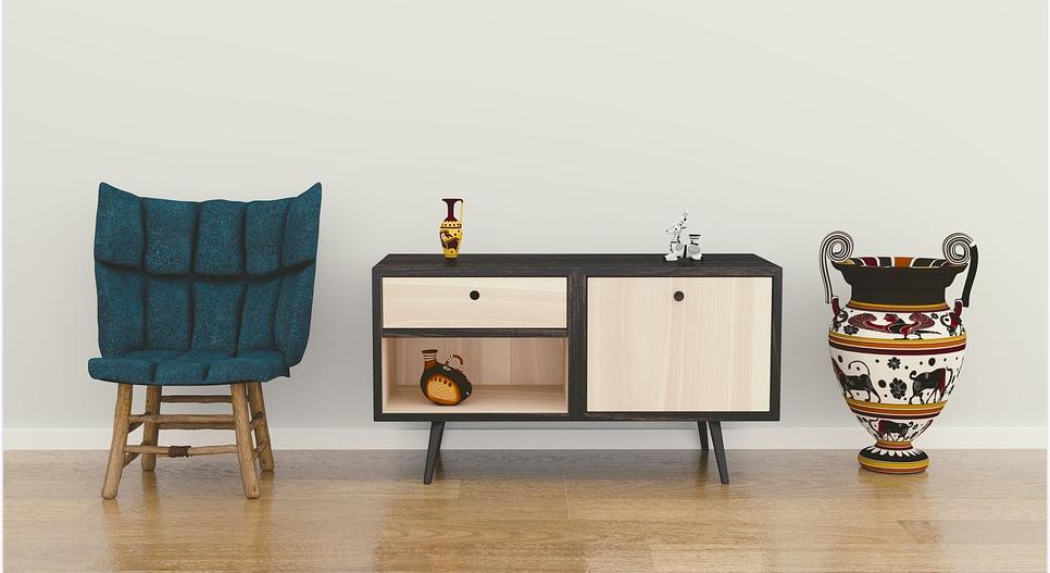 Designmöbel in verschiedenen Materialien und Ausführungen