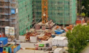 Baustelle im Ruhrgebiet