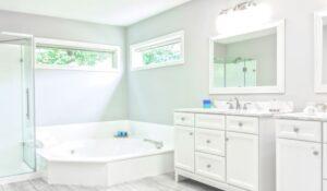 Erholung und Entspannung im Badezimmer