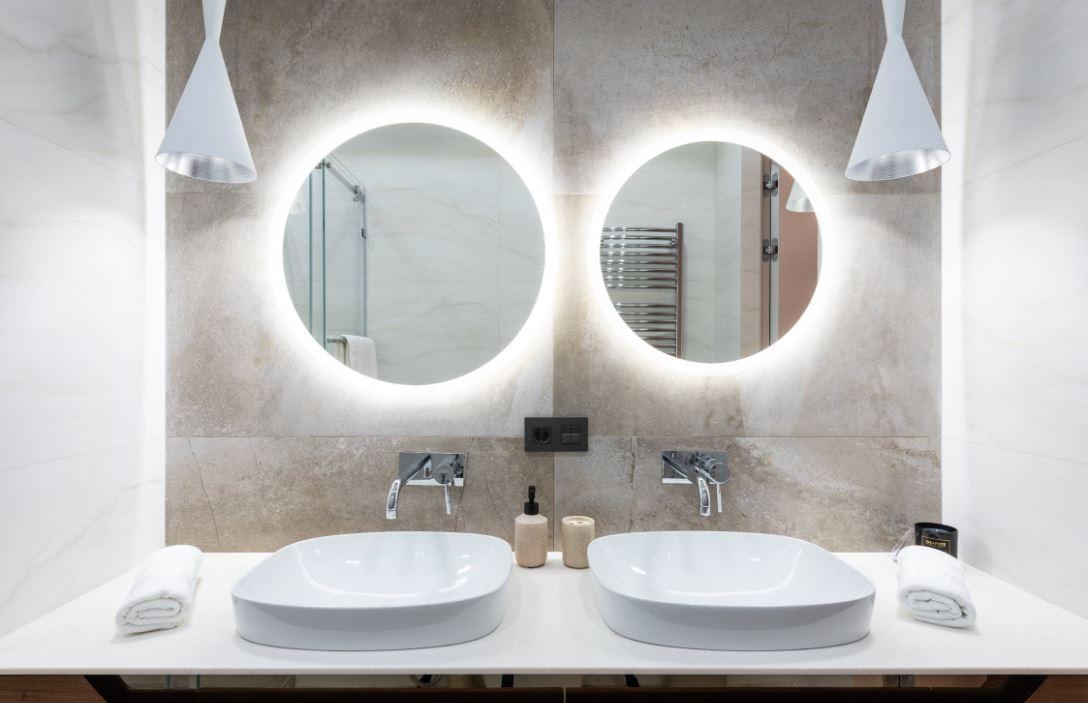 Wandspiegel  – Beleuchtete Hingucker