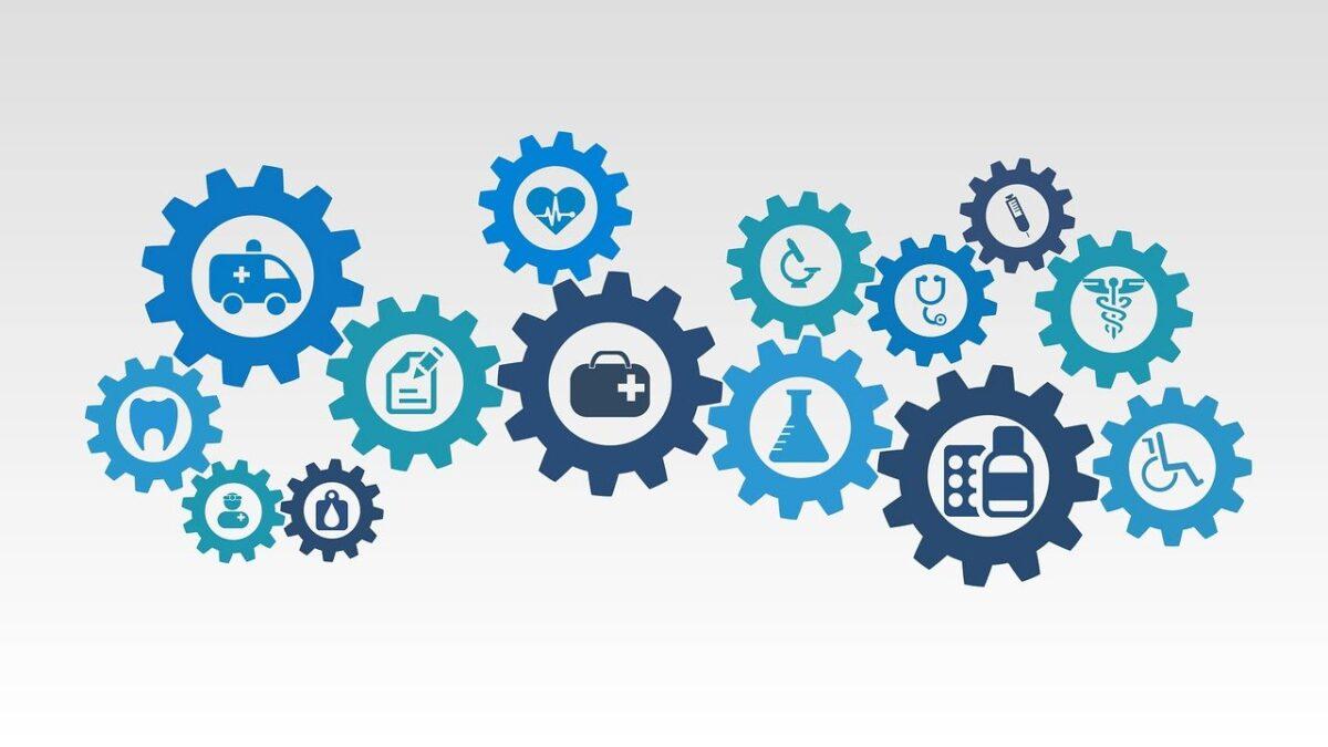 Ein Sanitätshaus bietet ein breites Produktsortiment