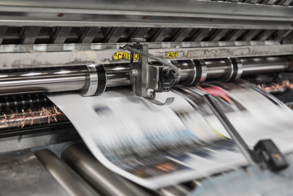 Sichere Verpackung von Druckerzeugnissen